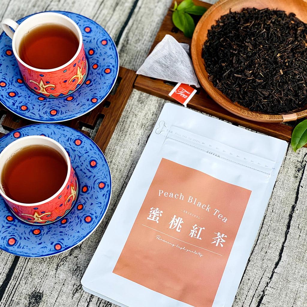 水蜜桃紅茶   品超制茶 - 紅茶客製化調配/OEM/ODM/代工/批發